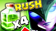 4 Jump Spell WITCH RUSH - TH9 STRONG 3 STAR WAR ATTACK STRATEGY 2017 - Clash of Clans