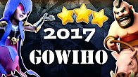 WITCH + HOGS - GOWIHO NEW TH9 STRONG 3 STAR War Attack Strategy - Clash of Clans