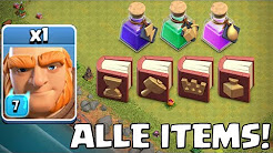 Clash of Clans ☆ Alle MAGISCHEN ITEMS!